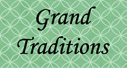 The Grand Traditions collection logo by Capital Bedding Company