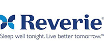 Reverie logo: Sleep well tonight, live better tomorrow.